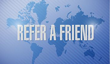 the greek refer a friend