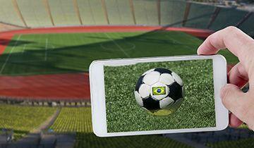 stadium and smartphone betting