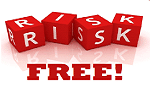 risk free sign