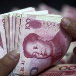 chinese Renminbi bills