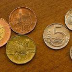 czk coins