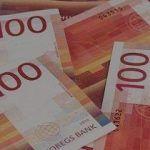 norwegian kroner bills