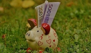 piggy-bank euros