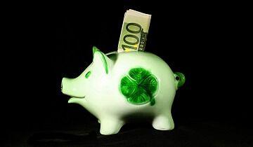 100 eur piggy bank