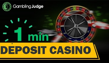 1 Min Deposit Online Casino Top Low Deposit Casinos List Gamblingjudge Com