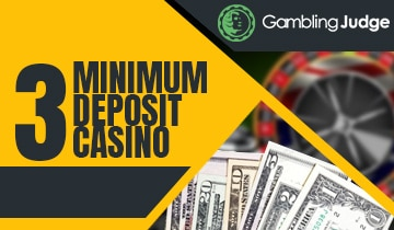 3 Minimum Deposit Casino Best Sites For Players Gamblingjudge