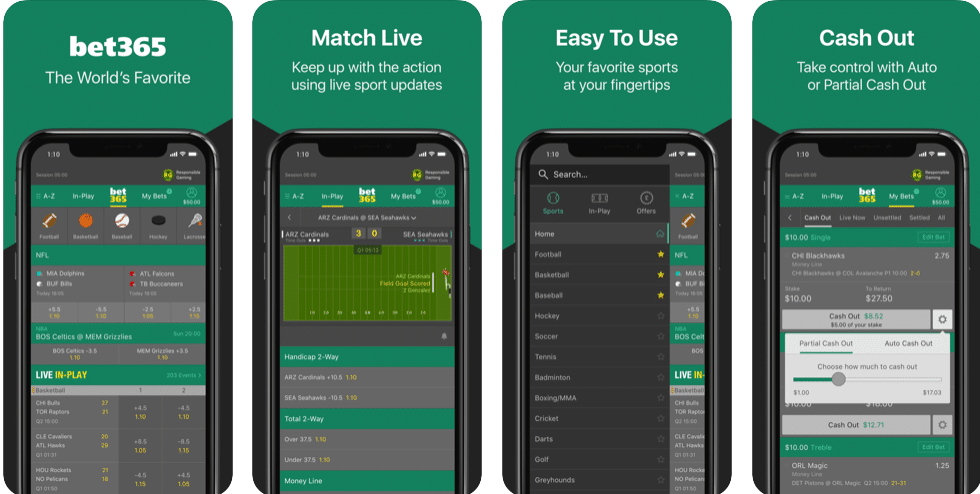 Bet365 iPhone App