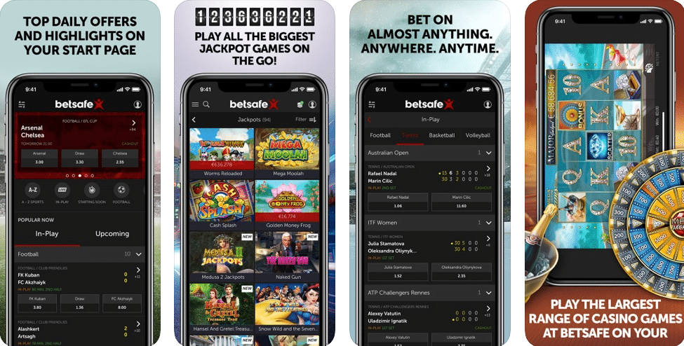 Betsafe iPhone App