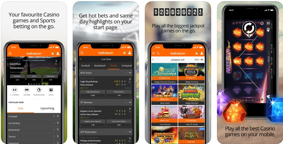 Betsson iPhone App